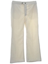 Mens Bellbotttom Style Wide Leg Flared Pants