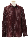 Mens Designer Print Disco Shirt