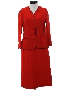 Womens Knit Suit