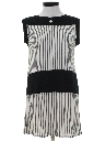 Womens Mini Mod Shift Dress