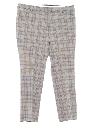 Mens Plaid Disco Pants