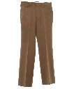 Mens Western Style Flared Leisure Pants