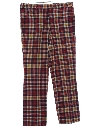Mens Plaid Golf Pants