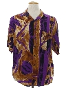 Mens Graphic Print Totally 80s Shirt