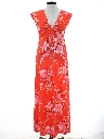 Womens Maxi Hawaiian Dress