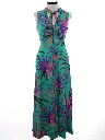 Womens or Girls Print Maxi Dress