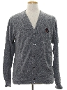 Mens Preppy Cardigan Sweater