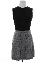 Womens Mod Mini Knit Dress