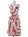 Womens Uniform Candy Striper Jumper Dress