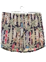 Mens Totally 80s Hawaiian Swim Shorts