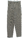 Mens Totally 80s Baggy Tapered Slacks Pants