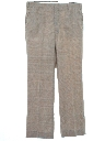 Mens Flat Front Slacks Pants