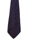 Mens Accessories - Wide Silk Necktie
