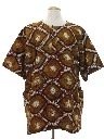 Mens Ethnic African Style Hippie Shirt