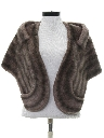 Womens Faux Fur Stole Jacket