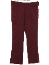 Mens Flared Wool Leisure Pants
