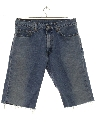 Mens Levis 505 Cut Off Denim Jeans Shorts