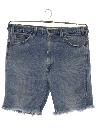 Mens Levis 520 Denim Cut Off  Jeans Shorts