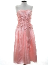 Womens Pretty in Pink Style Totally 80s Prom Or Cocktail Dress