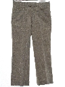 Mens Mod Flared Wool Blend Leisure Style Slacks Pants