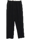 Mens Pleated Tuxedo Slacks Pants
