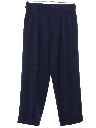 Mens Rockabilly Pleated Slacks Pants