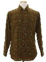 Mens Mod Pendleton Wool Flannel Shirt