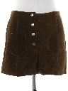 Womens Suede Leather Hotpants Shorts