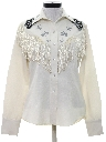 Womens Gabardine Embroidered Western Shirt*
