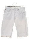 Mens Totally 80s Denim Jeans Jorts Shorts