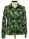 Womens Print Lightweight Shirt Jacket
