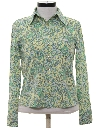 Womens Totally 80s Print Guess Shirt