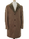 Mens Mod Wool Overcoat Car Coat Style Jacket