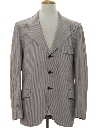 Mens Leisure Style Western Blazer Sport Coat Jacket