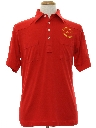Mens Golf Style Baseball Shirt Shirt