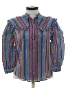 Womens Totally 80s Prairie Shirt