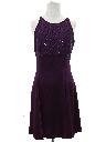 Womens Designer Prom Or Cocktail Mini Dress