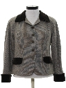 Womens Totally 80s Wool Jacket