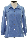Womens Western Style Leisure Shirt