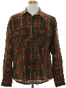 Mens Plaid Flannel Shirt