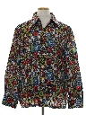 Mens Print Disco Ski Shirt