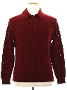 Mens Mod Knit Shirt