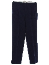 Mens Pleated Swing Gabardine Pants