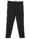 Mens Pleated Gabardine Pants