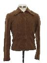 Mens Western Style Zip Jacket