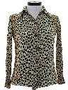 Womens Animal Print Shirt