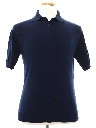 Mens Knit Banlon Polo Shirt