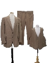 Mens Western Style Three Piece Disco Suit