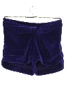 Womens Totally 80s Velour Shorts