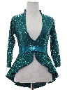 Womens Wicked 90s Sequined Cocktail Shirt